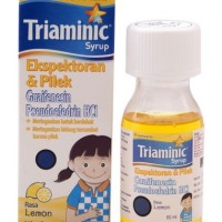 Triaminic ekspektoran & pilek syrup 60 ml