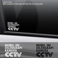 Harga Stiker Mobil Pengaman Dilengkapi Cctv Safety Cutting Sticker Kaca Body | WIKIPRICE INDONESIA