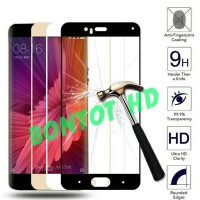 TEMPERED GLASS ANTI GORES KACA FULL LAYAR WARNA HP XIAOMI MI6 - MI 6