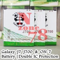 Baterai Rakkipanda For Samsung J7 J700 On7 On 7 Double IC Protection