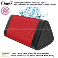 Oontz Angle 3 Cambridge SoundWorks Bluetooth Speaker Red Original