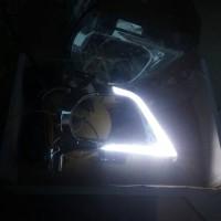 Jual Drl Foglamp Crystal Led White Turn Yellow Toyota Innova Reborn Murah