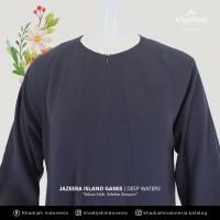 Gamis Jazeera Khadijah Indonesia Fashion Muslimah Syari Kancing Depan