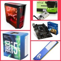 Paket hemat PC Gaming - Game i5 7600 VGA GT 1030 setting high