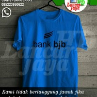 Kaos Murah Bank Bjb Distro