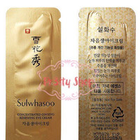 Sulwhasoo Concentrated Ginseng Renewing Eye Cream Sample Sachet