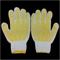 sarung tangan kain bintik panjang dotting gloves kerja industri motor