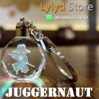 Gantungan Kunci Dota 2 - Juggernaut LED