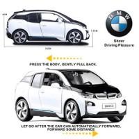 Licensed BMW I3 SUV Metal Alloy Diecast Model Pull Back Car Kids Child