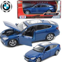 Licensed 1:24 BMW 5 Series GT SUV Diecast Model Collection Vehicle Car
