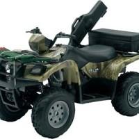 Suzuki Vinson 500 4x4 Green Camo 1:12 Licensed Diecast Replica ATV/Qua