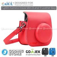 Fujifilm Kamera Instax 8s Leather Bag/Tas/Case