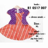 harga Dres Batik Anak Bolero B10617007 Sekdress Murah Gaun Lucu Baru Ungu Tokopedia.com