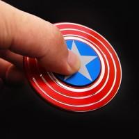 Jual Spinner Metal Aluminium Captain America Spinner Tameng Kapten Amerika Murah