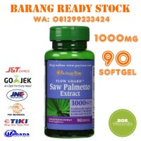 PURITAN PRIDE SAW PALMETTO 1000 MG ISI 90 Softgels 100% ORI USA