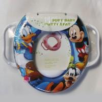 Jual Soft Baby Potty Seat - Mickey (Gagang) Murah