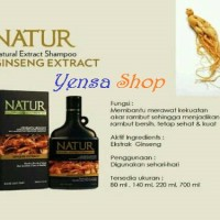 NATUR Natural Extract Shampoo Ginseng Extract 140 ml