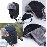 Topi Rusia Ushanka Winter Hat Import + Masker.