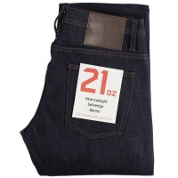 The Unbranded Brand - UB321 21oz Indigo Selvedge Straight Fit