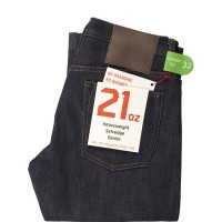 The Unbranded Brand - UB221 21oz Indigo Selvedge Tapered Fit