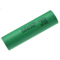 Samsung ICR18650-22FU Lithium Ion Battery 3.7V 2200mAh (14 Days) - Gre