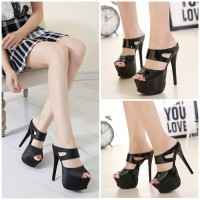 Jual sepatu pump high heels 276616 Shoes Wanita Import Murah Korea Fashion Murah