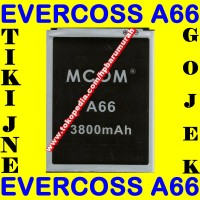 Baterai Cross A66 Double Power M Com