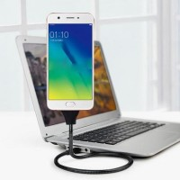 Jual Flexible Cable Micro Smart USB Stand Up Docking Kabel for Android Murah