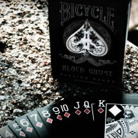 bicycle black ghost + bonus deck
