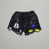 harga Celana Pendek Anak Perempuan Import Branded Hot Pant Jeans Mickey Kid Tokopedia.com