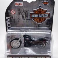 Jual Maisto 1:24 Harley Davidson 2002 FXSTB Night Train Murah