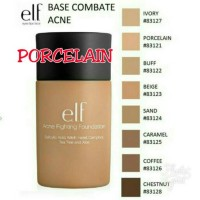 ELF ACNE FOUNDATION - PORCELAIN - WAJAH CANTIK