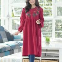 Jual Dress Noura Embroidery Tunic Babydoll Murah