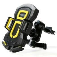 Remax Air Vent Smartphone Holder - RM-C14 - Black/Yellow