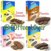 Jual Oreo Thins Impor Lemon, Strawberry, Tiramisu, Vanilla Large Box Besar Murah