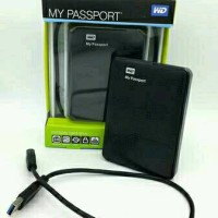 case external harddisk wd my passport sata 2.5 usb 3.0 / casing hdd