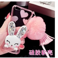 Oppo F1 A35 F1  Plus R9 F1s A59 sof case back cover hp RABBIT DIAMOND