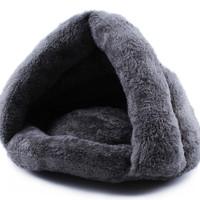 Jual Tempat Tidur Pet Kasur Bed Kucing Anjing Bentuk Goa Gua Nyaman Murah
