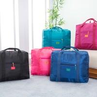FOLDABLE TRAVEL BAG /HAND CARRY TAS LIPAT/KOPER LUGGAGE ORGANIZER(TTS)