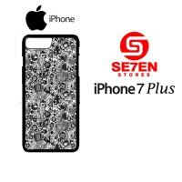 Casing HP iPhone 7 Plus art pop art concept Custom Hardcase Cover
