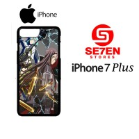 Casing HP iPhone 7 Plus Sword Art Online Season 2 Custom Hardcase Cove