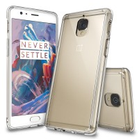 Rearth Ringke Fusion Casing Oneplus 3 / One Plus 3t - Crystal Clear