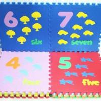 Puzzle Evamat Karpet Lantai Foam Sponge
