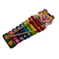 Mainan Kayu Edukatif Kulintang Besi Tiger untuk Edukasi Anak 1-2 Tahun