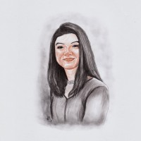 Jual MAKE YOUR PORTRAIT ART! // SKETCH // Black and White / Colored Murah