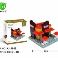Mainan Lego - X Block Dunkin Donuts