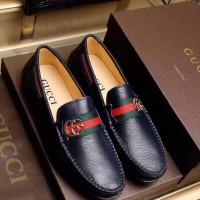 Sepatu loafer casual pria cowok gucci kw mirror ori leather a8245e29c2