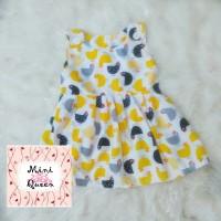 Jual Dress Katun Anak Overall Chicks White Lucu Murah Cerah Murah