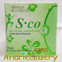 Jual S.co Bio Pembalut Herbal | S co PantyLiner | Sco Original Murah