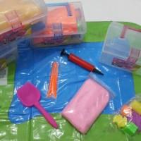 Jual PROMO Box Paket Pasir Kinetik Amazing Kinetic Sand Mainan Edukasi Anak Murah